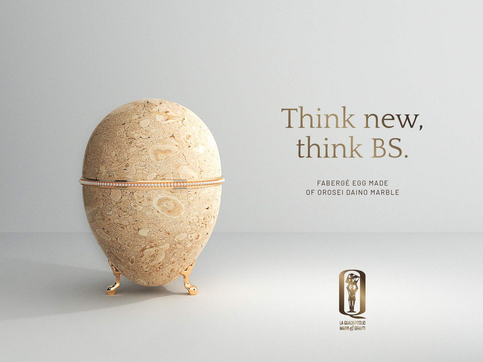 Think new, think BS.